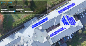 Solar Roof Mapping using high resolution Drone image