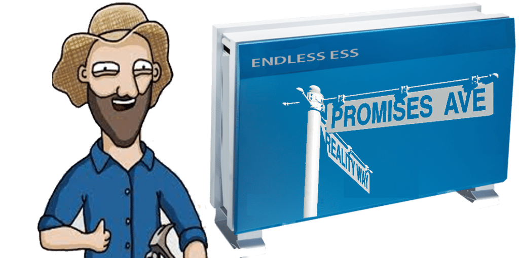 Solar Battery Sales Promises