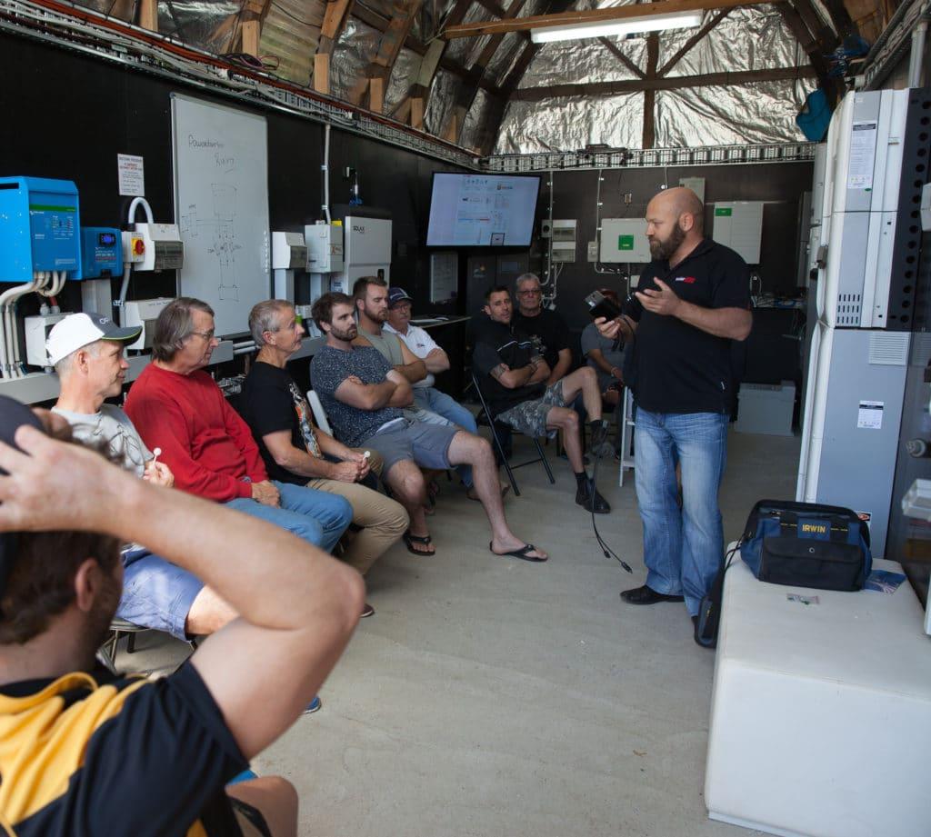 Solar Storage battery design course Moora