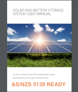 AS/NZS 5139 Australian Standard Battery Energy Storage