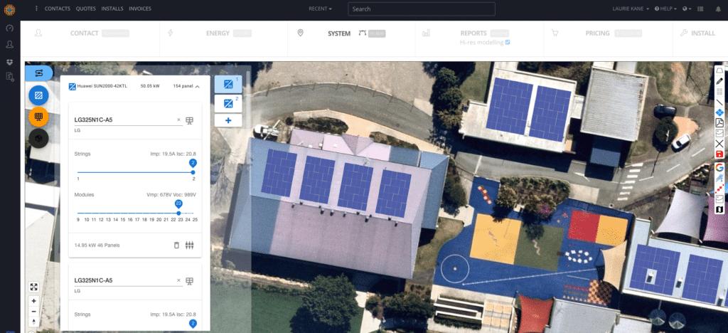 SolarPlus V4 CRM Sales platform