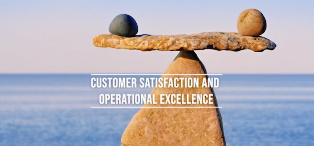 Customer satisfaction and operational exellence